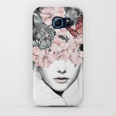 WOMAN WITH FLOWERS 10 Galaxy S7 Slim Case