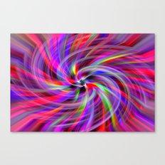 Fibre Optics Canvas Print