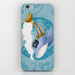 Ballena Pirata iPhone Skin