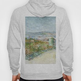 Vegetable Gardens at Montmartre by Vincent van Gogh Hoody