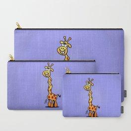 Joyfull Giraffe Carry-All Pouch