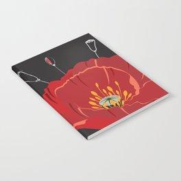 Poppy variation 8 Notebook