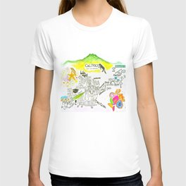 The happiest college in America T-shirt