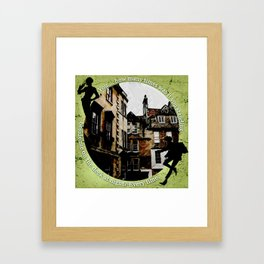 Jesper and Wylan - Every Time Framed Art Print