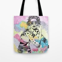 aquarius Tote Bags featuring Aquarius by Heaven7