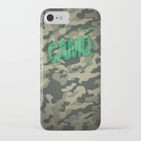 camo iPhone & iPod Cases featuring Camo by GabrieleCigna