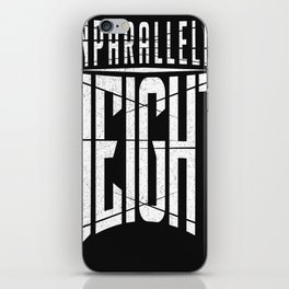 Unparalleled Height Logo iPhone Skin