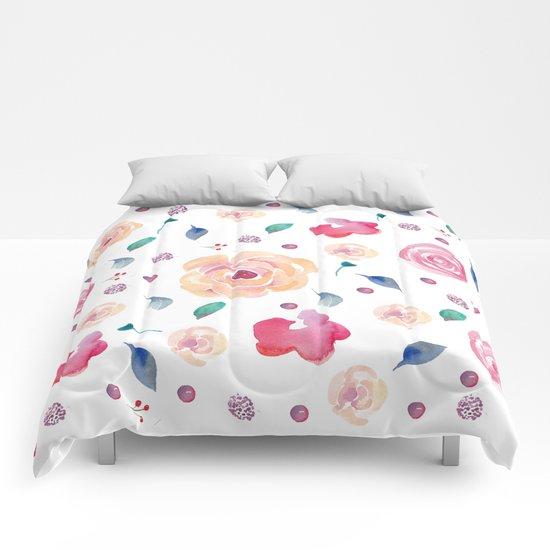 Springtime florals Comforters