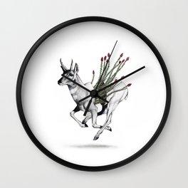 Pronghorn Wall Clock