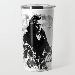 Beethoven Motorcycle Travel Mug