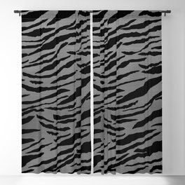 Tiger Animal Print Glam #4 #pattern #decor #art #society6 Blackout Curtain