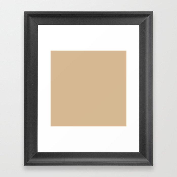 Almond Baby Camel 2018 Fall Winter Color Trends Gerahmter Kunstdruck
