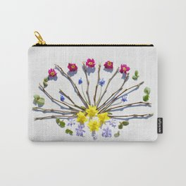 Spring flowers and branches III Carry-All Pouch