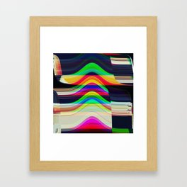 GLIDING thru A BLACKHOLE before BREAKFAST Part 2 Framed Art Print
