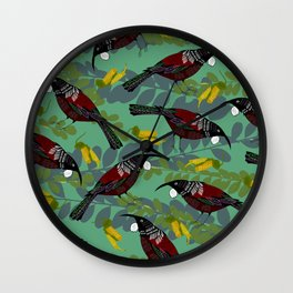 Tui Pattern Wall Clock