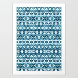 Nordic 03 Pattern Art Print
