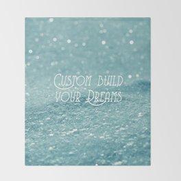 Custom Dreams Throw Blanket