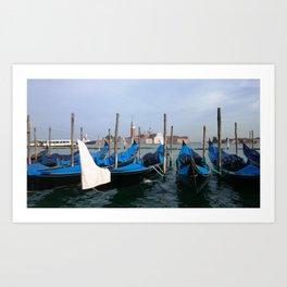 Gondola in  Venice Italy Art Print