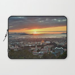 View of San Francisco Bay Area at Sunset from UC Berkeley Laptop Sleeve