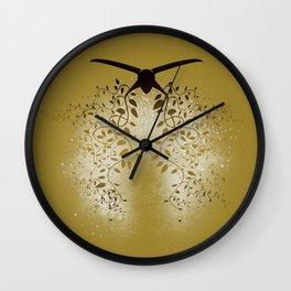Breath the Barbare (V II gold) Wall Clock