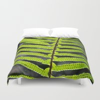 fern Duvet Covers featuring Fern by Kirby Kilpatrick