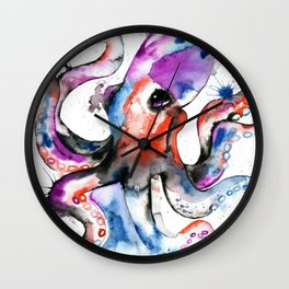 Octopus - Splatipus Wall Clock