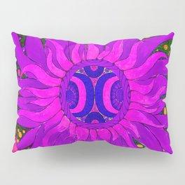 Fantastic Space. Purple sun. Pillow Sham