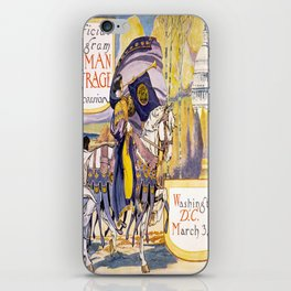 Vintage poster - Woman Suffrage Procession iPhone Skin