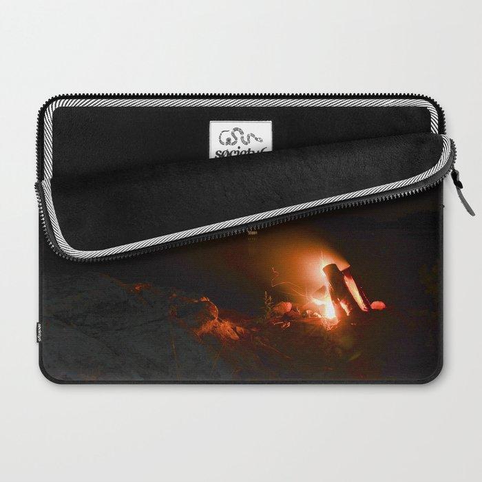 Campfire. Laptop Sleeve