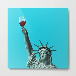 Liberty of drinking Metal Print