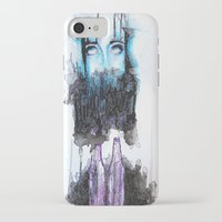 alcohol iPhone & iPod Cases featuring Alcohol dependence by laurensmorin