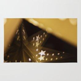 Xmas-Star And Mirror Image Rug
