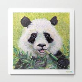 Bamboo Brunch Metal Print