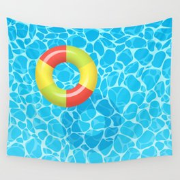 Summer games in the water Wall Tapestry