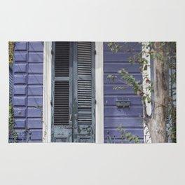 New Orleans Blue Marigny Door Rug