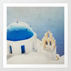 The Church Art Print