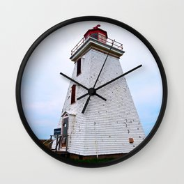 Lighthouse of Cape Egmont Wall Clock
