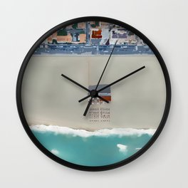 PATCHWORK II Wall Clock