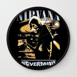 Nevermind Wall Clock