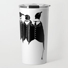 All Dressed Up And Nowhere To Go Travel Mug