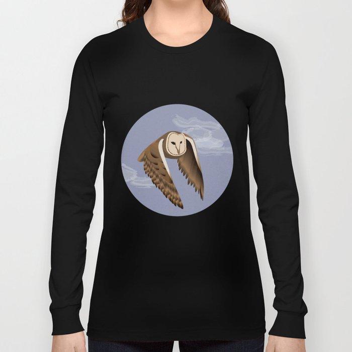 Owl at Dusk Long Sleeve T-shirt