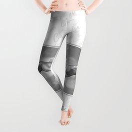 Creation - in Black & White Leggings