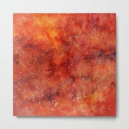 molten galaxy Metal Print