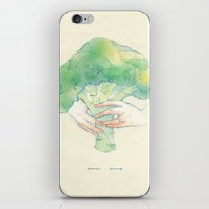 Broccoli bouquet iPhone Skin