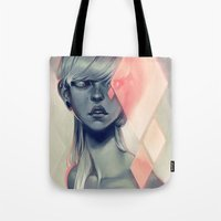 blush Tote Bags featuring Blush by loish