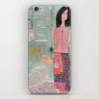 key iPhone & iPod Skins featuring Key by Patty Haberman