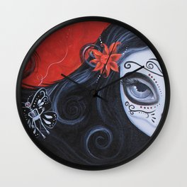 Mariposas, (Butterflies) Wall Clock