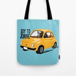 Joy to drive Tote Bag