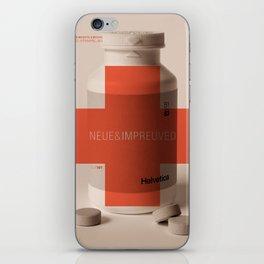 Neue Helvetica iPhone Skin