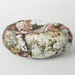 Alexander Zick - Snow White - Digital Remastered Edition Floor Pillow